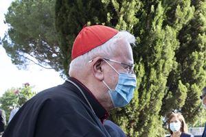 Il cardinale Gulatiero Bassetti, anni. Foto dell'agenzia Ansa.