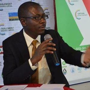 David du Ciel Mukendi, giornalista congolese, 38 anni.