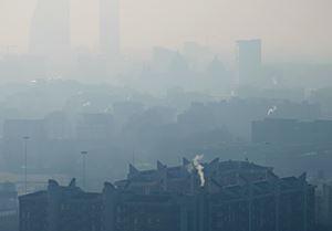 Lo smog nelle nostre città.