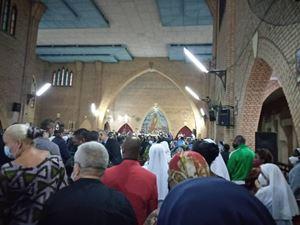 Un momento della celebrazione eucaristica.