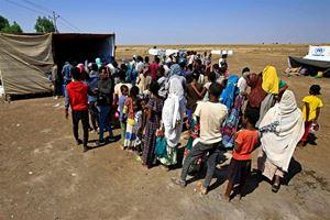 Rifugiati tigrini fuggiti in Sud Sudan.