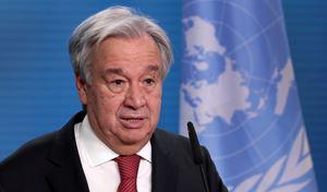 António Guterres, segretario generale delle Nazioni unite (foto Reuters).