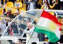 Il Papa in Iraq, le immagini della Messa ad Erbil e la partenza per Roma