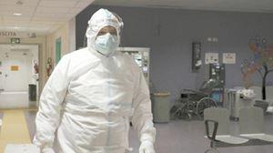Don Marco Galante all'ospedale di Schiavonia