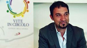 Emiliano Manfredonia, 46 anni il 19 aprile, presidente nazionale delle Acli. Per gentile concessione delle Acli. Le altre immagini sono dell'agenzia di stampa Ansa.