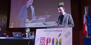 Emiliano Manfredonia, 46 anni, dal febbraio 2021 presidente nazionale delle Acli.