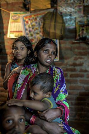 Povertà e disuguaglianza in India (foto di Atul Loke, Panos/Oxfam)