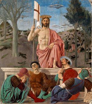 La Risurrezione di Gesù Cristo, Piero della Francesca (1416-1492).