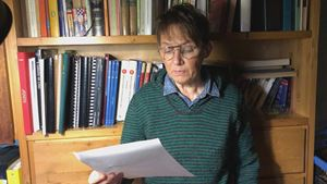 Susanna Tamaro, a cui è stata diagnosticata la sindrome di Asperger, un disturbo dello spettro autistico.
