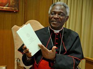 Il cardinale Peter Turkson, 72 anni . Foto Ansa.