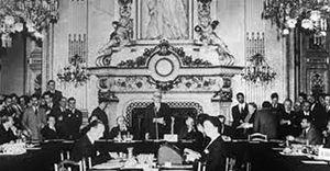 La dichiarazione Schuman, Parigi, 9 maggio 1950.