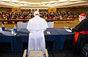 Il Papa apre l'assemblea generale della Cei (le foto del servizio sono di AgenSir)