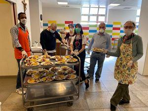 Volontari della mensa