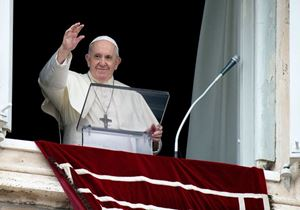 Papa Francesco (foto Ansa)