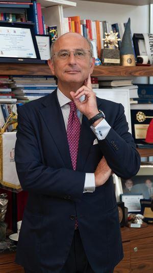 Amedeo Manzo, presidente della Banca di Credito Cooperativo.