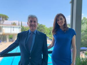 Saverio Gaeta ed Eva Crosetta