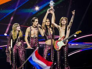 I Maneskin, vincitori all'Eurovision Song Contest 2021 (foto Ansa)