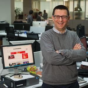 Il giornalista Domenico Agasso jr, autore della biografia