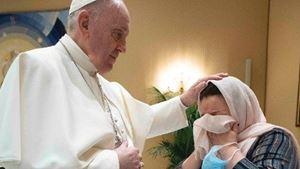 Le due foto di queste servizio sono dell'Osservatore Romano/Vatican News.