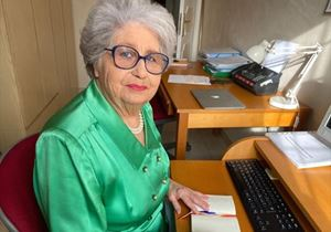 Maria Gabriella Carnieri Moscatelli, presidente del Telefono Rosa