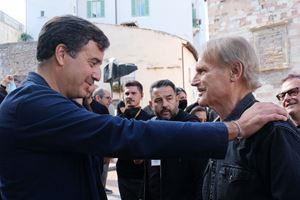 Il produttore Luca Bernabei con Terence Hill